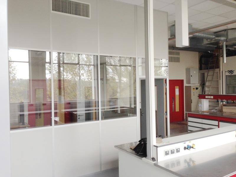 Amefi cloisons pour les bureaux et l 39 industrie - Faux plafond industriel ...